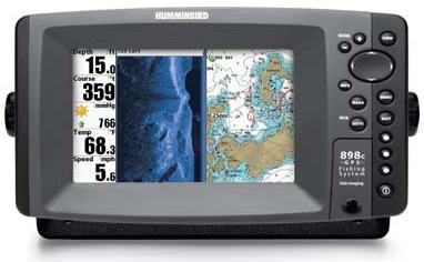 Humminbird 898c SI FishFinder GPS Combo